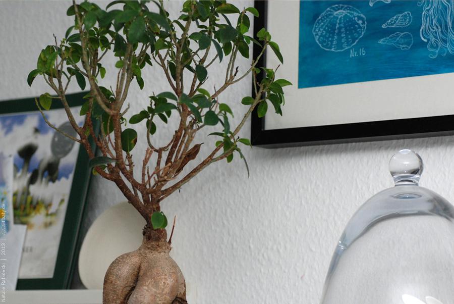 Бирюзовые вкрапления в интерьере Our living room