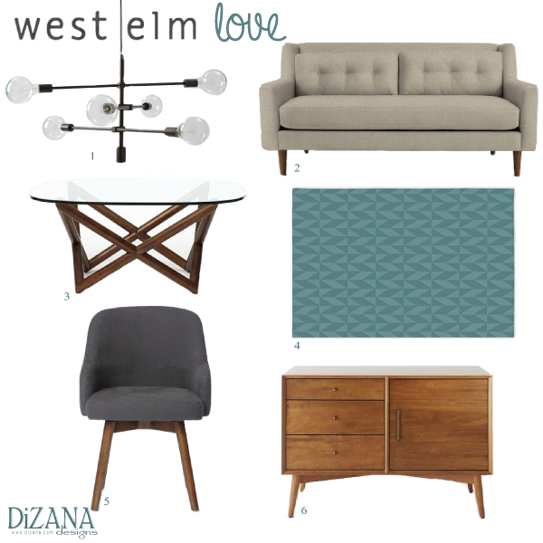 West Elm Love Susanna Jane - West elm spindle coffee table