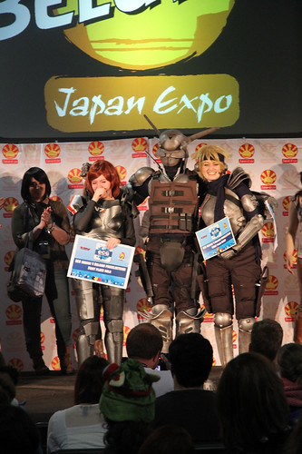 Cosplay competition winners