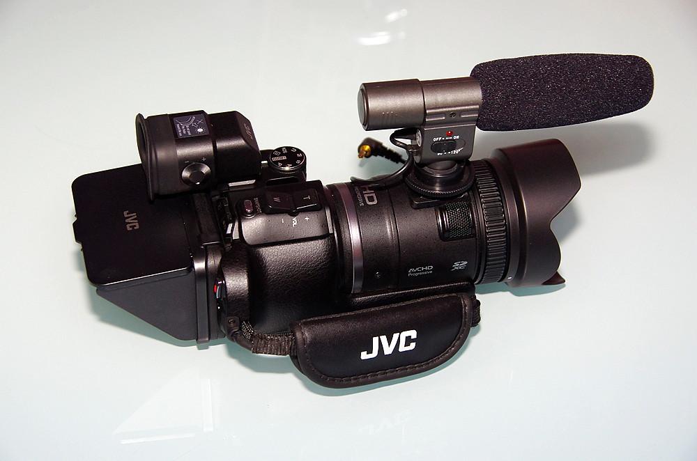 JVC GC-PX100 外觀開箱