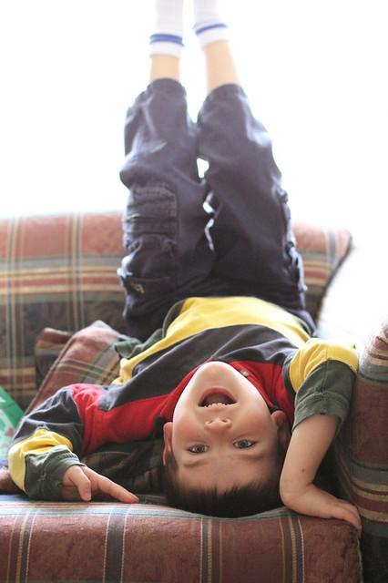 Upside Down Boy
