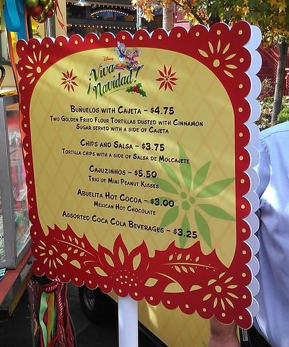Viva Navidad Mexican Dessert Menu