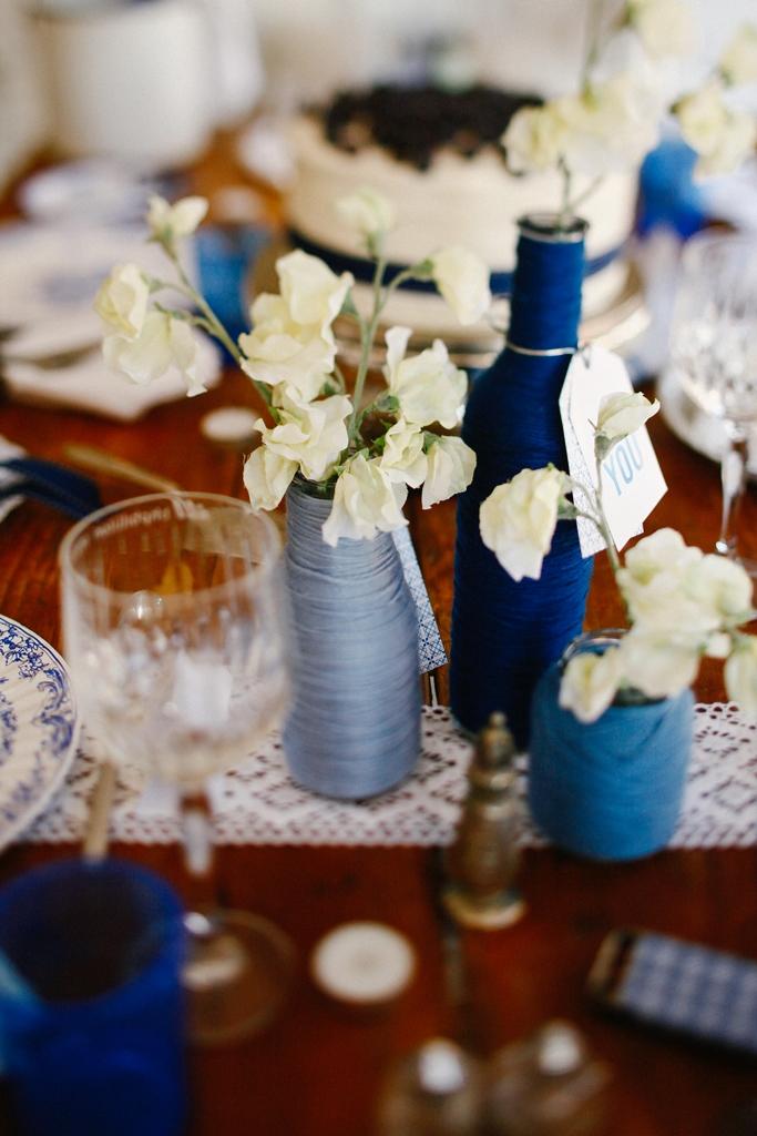 pantone dazzling blue christmas decoration ideas