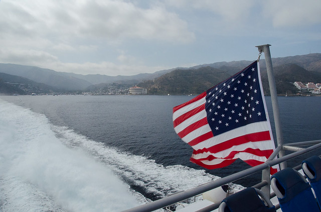Leaving Avalon on the Catalina Express