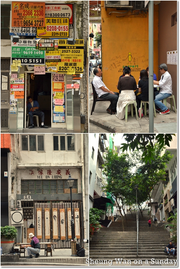 Sheung Wan on a Sunday