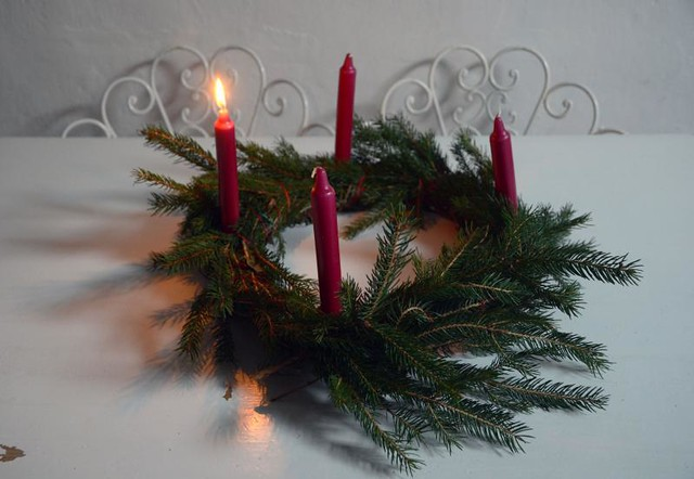 December wreath