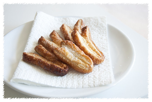 Easy Palmiers with Sugar