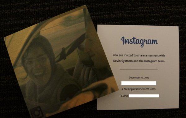 Презентация Instagram 12 декабря
