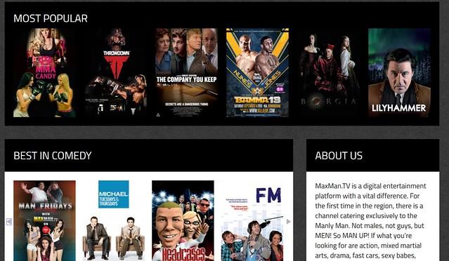 maxman TV site 2