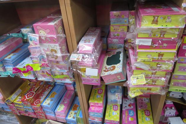 超多種類功用的鉛筆盒