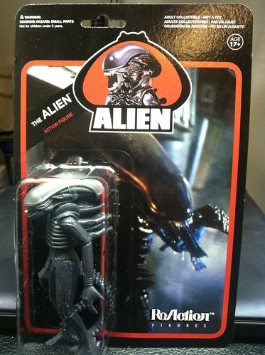 "Alien ReAction 3 3/4"" Figure By Super 7"