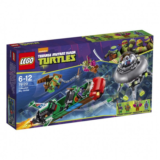 LEGO Teenage Mutant Ninja Turtles 79120 - T-Rawket Sky Strike