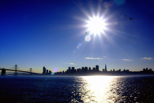 San Francisco from Treasure Island by ericwagner