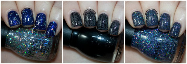 Sinful Colors Holiday Tinsel and Glitter Topcoats