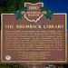Historic Marker - Start of U.S. County Library System