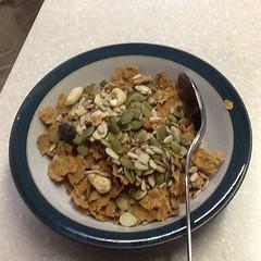 meal(0.0), produce(0.0), snack food(0.0), breakfast cereal(1.0), breakfast(1.0), food(1.0), dish(1.0), muesli(1.0), cereal(1.0), cuisine(1.0),