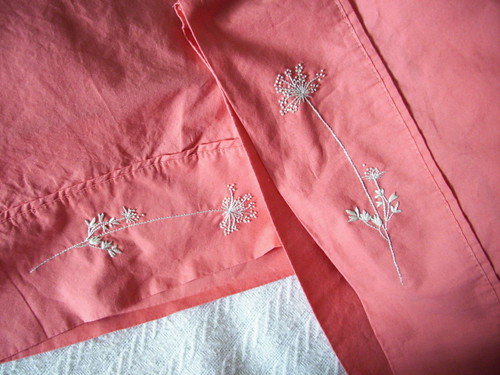 Queen Anne's Lace Pillowcases
