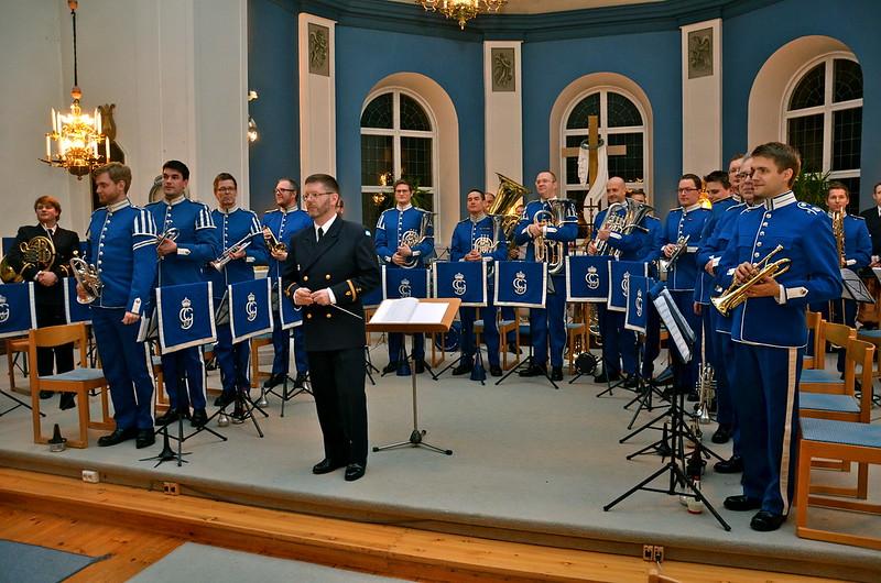 Livgardets Dragonmsikkår - Dirigent Jörgen Ådvall