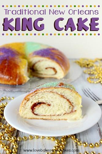 King Cake #MardiGras #NOLA #dessert