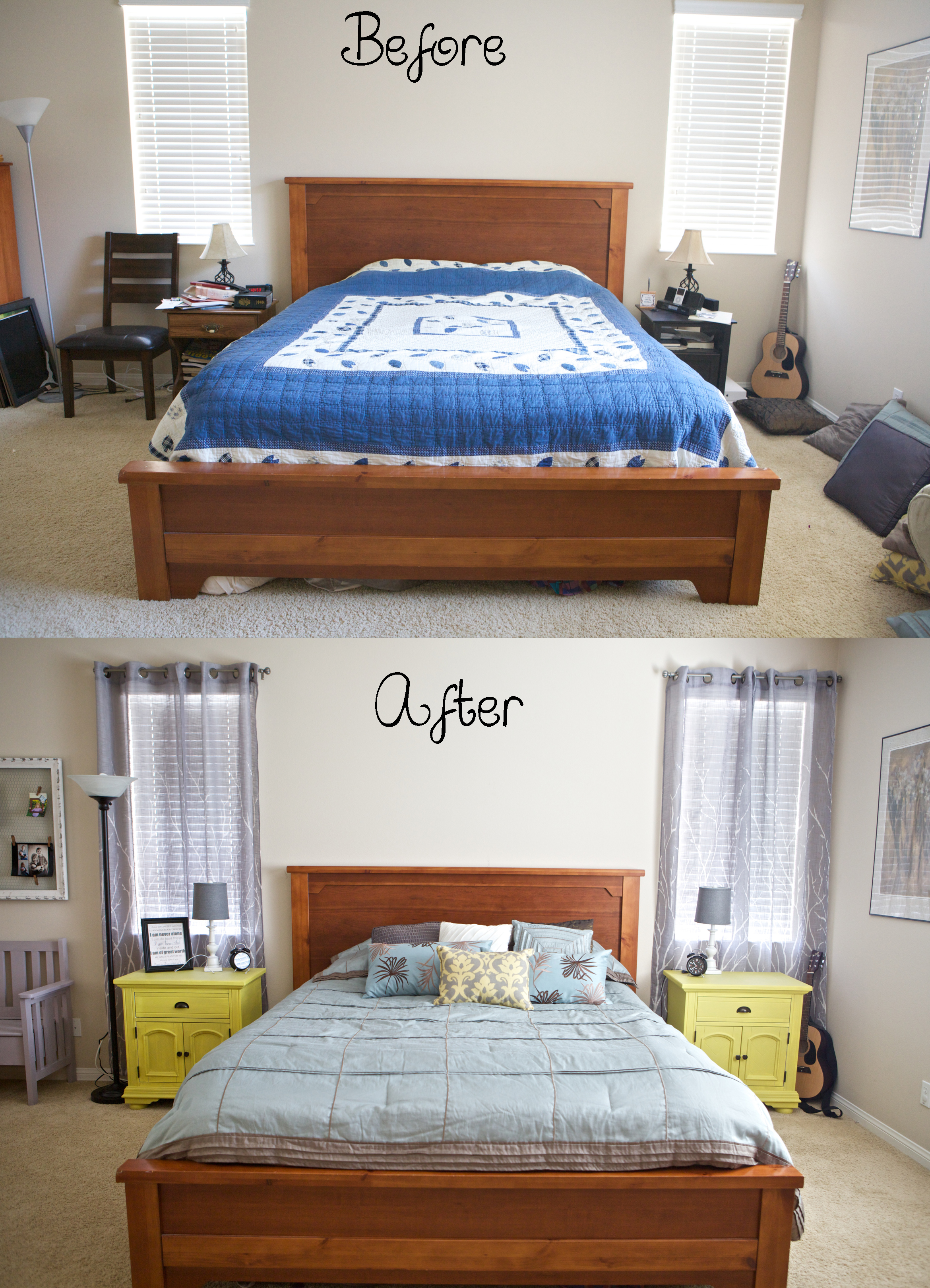 Master Bedroom Makeover Emmy Mom One Day At A Time Master Bedroom Makeover On A Budget
