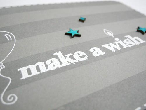 Make A Wish Stripe (detail)