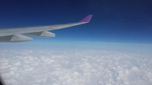 กำลังบินไปประเทศจีน