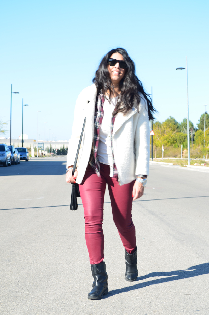 florenciablog total look burgundy inspiration burgundy look granate fieltro jacket cream jacket gandia españa bloggers (12)
