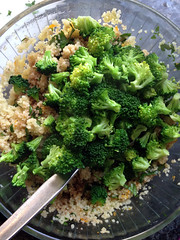 coucous au brocoli