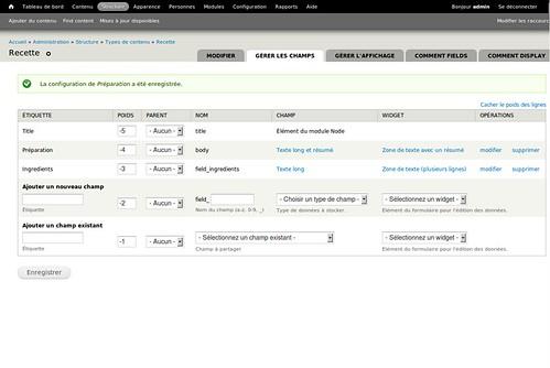 Drupal7 admin menu et overlay