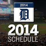 2014 DETROIT TIGER SCHEDULE AND RESULTS 13546081655_1e561ddcc3_o