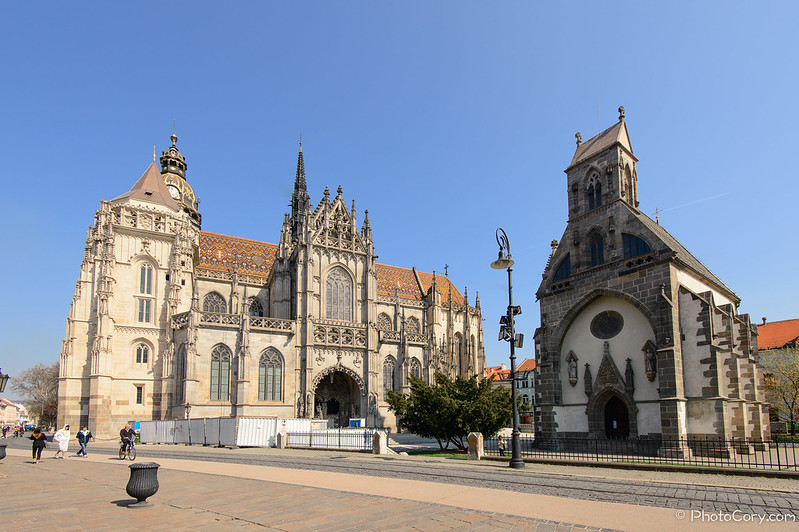 St Elizabeth Cathedral and St Michael Chapel, Kosice, Slovakia