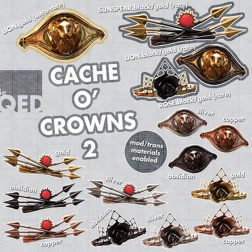 ieQED Cache o' Crowns 2