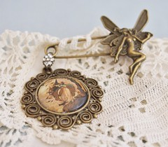 Fairy Kilt Pin Brooch