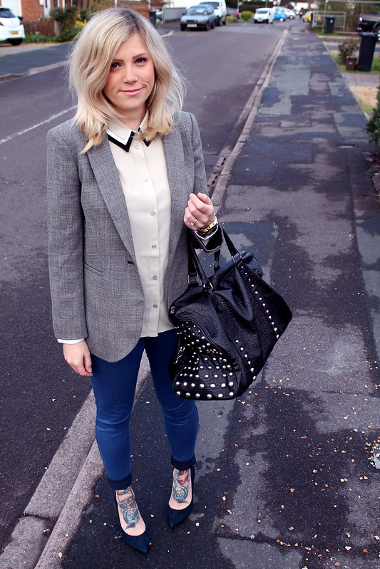 Hobbs Blazer Outfit Post