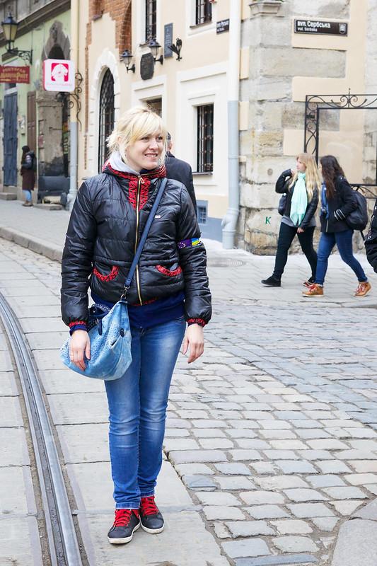 Lviv, Ukraine. Street photo.