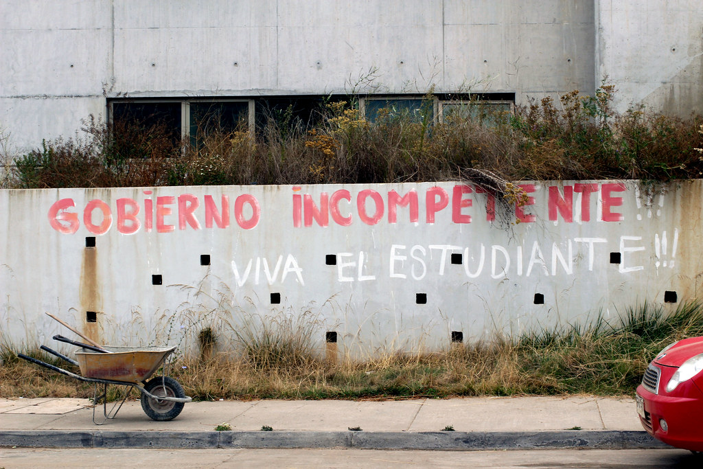gobierno incompetente