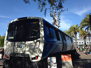 BART's Fleet of the Future prototype