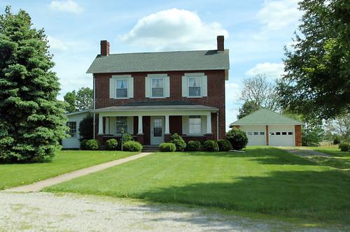 Robert Coyner House — Buckskin Township, Ross County, Ohio