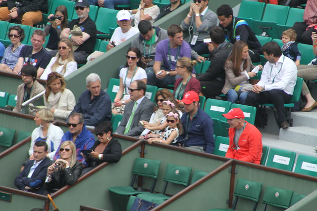 Mirka Federer and twins