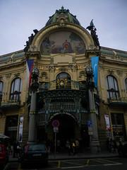 Obecní dům, or the Municipal House