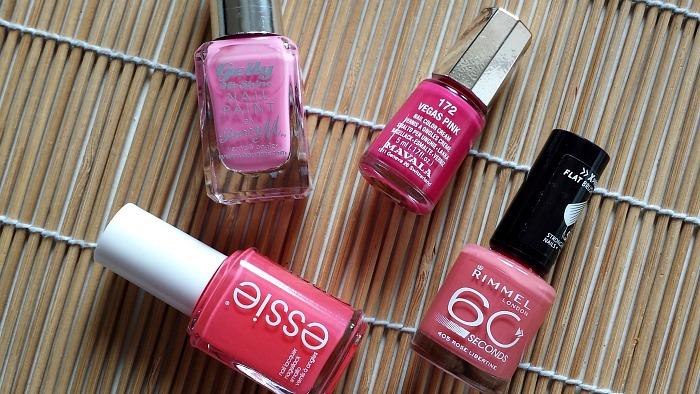 Pink Nail Polishes. Think Pink