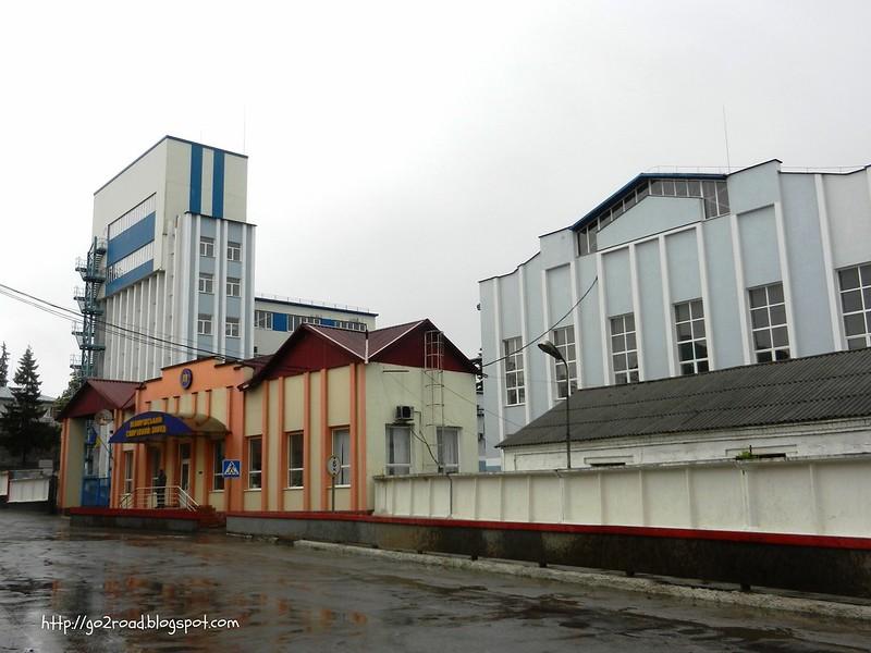 Немиров. Завод по производству водки Немиров