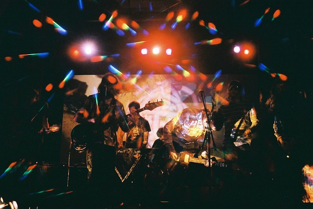 Optical Sounds Show, Tess Parks, B-17, The Auras Live