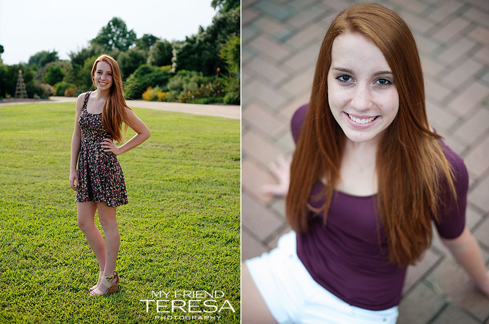 My Friend Teresa cary academy senior portrait