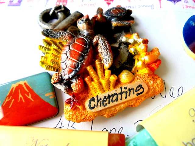 Cherating fridge magnet