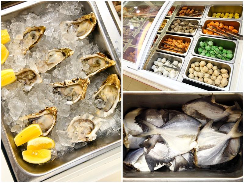 Fresh Oysters White Pomfret