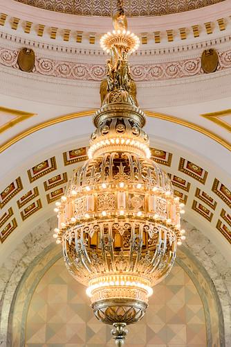 Washington State Capitol Chandelier