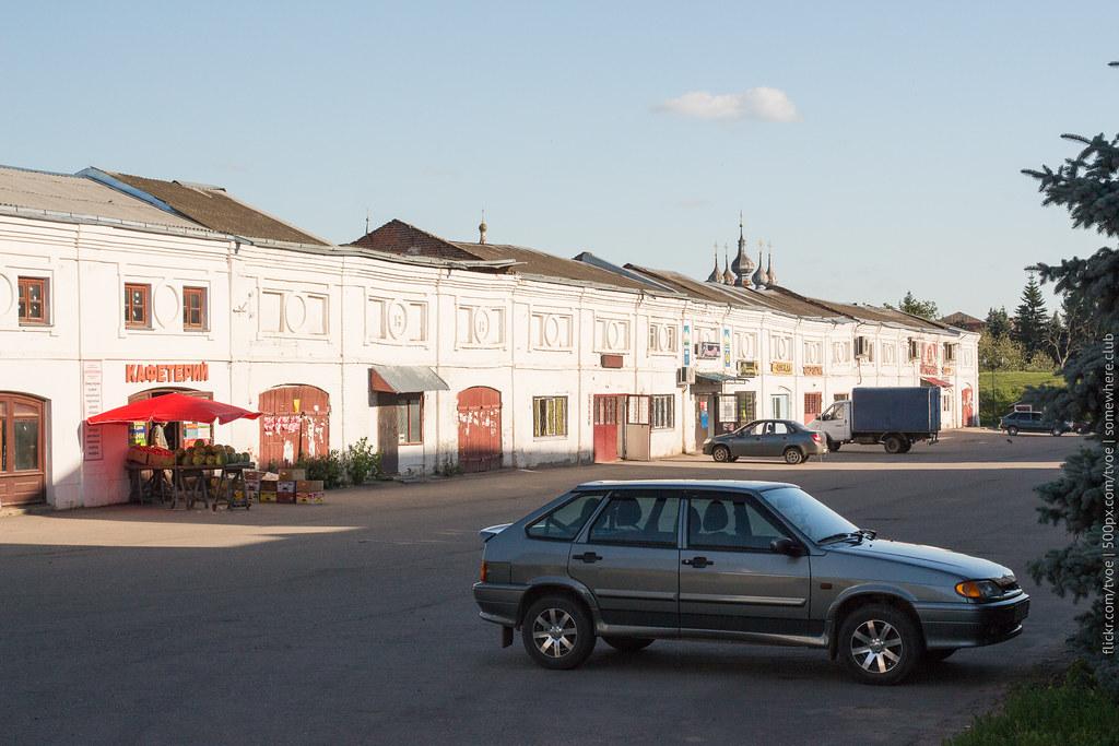 Торговые ряды в Юрьеве-Польском