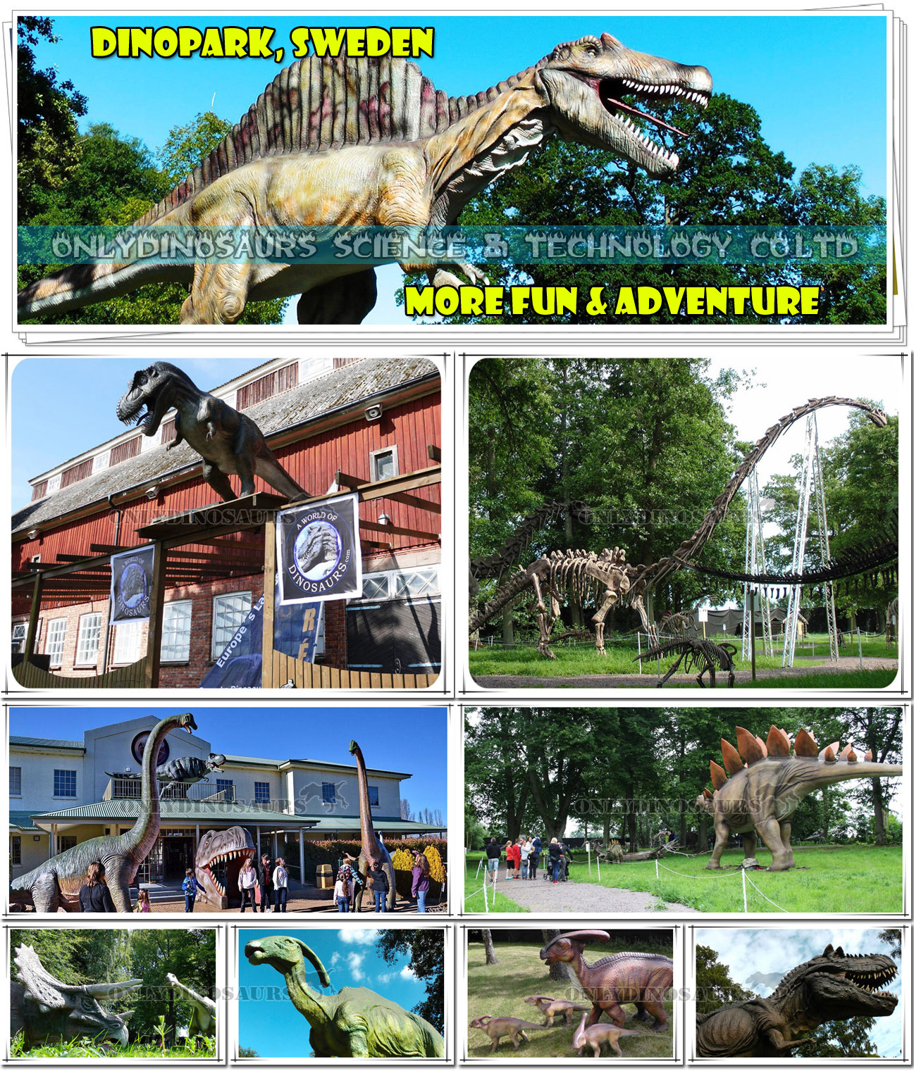 Dinopark in Sweden