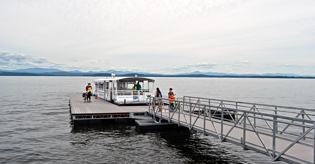 biking tour - burlington vermont - bike ferry